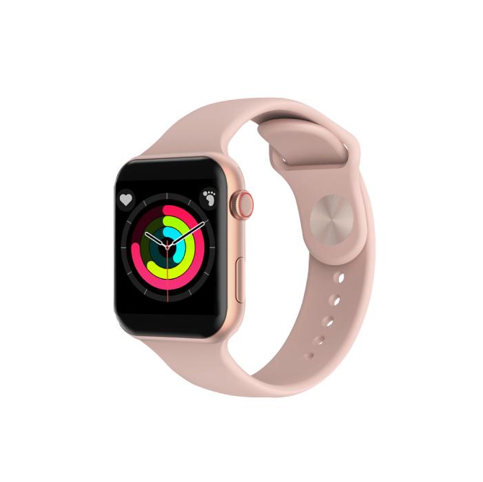 Smart Watch นาฬิกาอัจริยะ นาฬิกาสมาร์ทวอท์ช วัดอุณหภูมิร่างกายได้ รุ่น Xen 6 (สีชมพู)