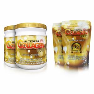Ultimate Collagen Gold 2 กระปุก แถม 2 ซอง