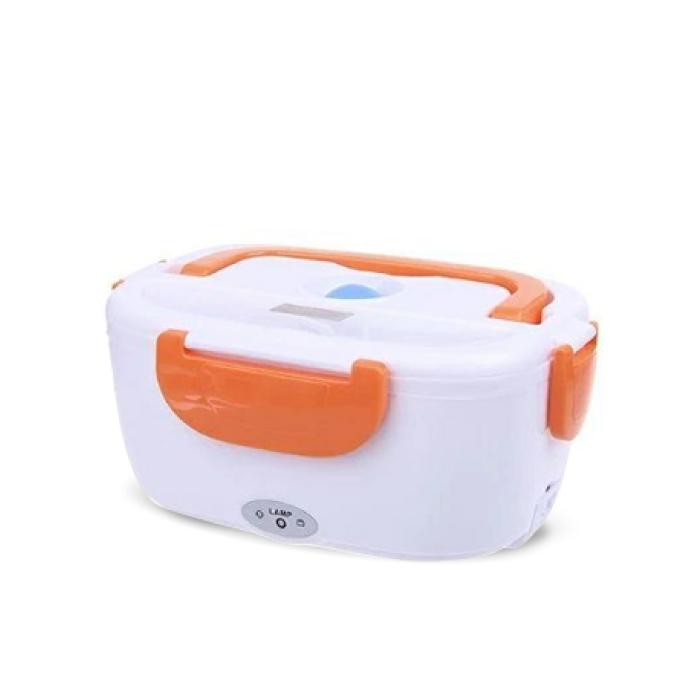 Paul Tiger กล่องอุ่นอาหารไฟฟ้า แบบพกพา รุ่น PT-B01 YS-001 (สีส้ม)