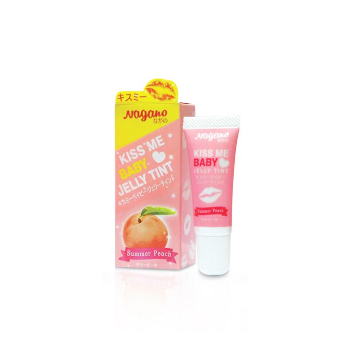 Nagano Kiss Me Baby Jelly Tint ลิปทินท์ เนื้อเจลลี่ (คละสี) (ขนาด 10ml)