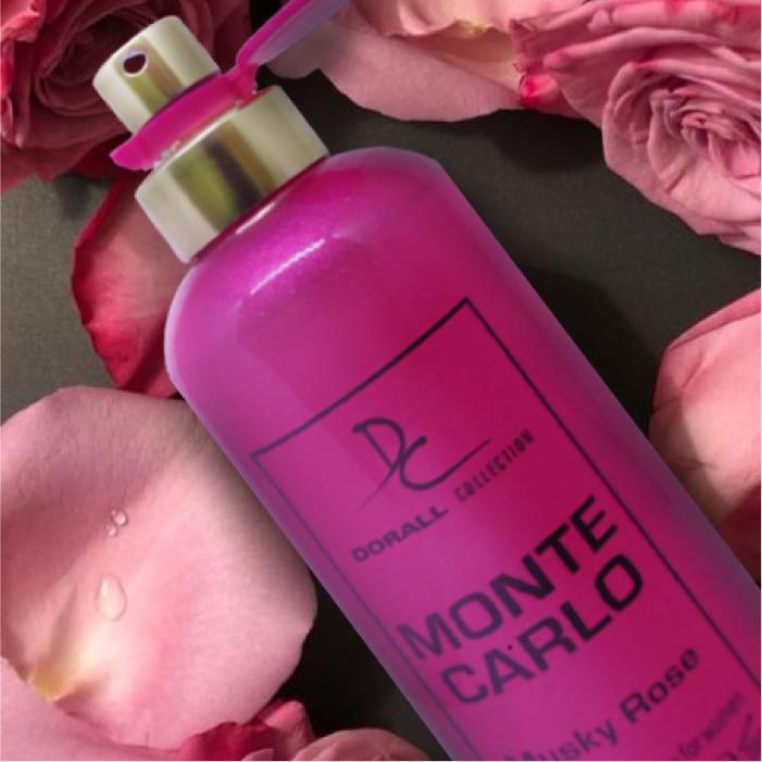 น้ำหอม DORALL MONTE CARLO MUSKY ROSE FOR WOMEN น้ำหอมสำหรับผู้หญิง (100 ml.)