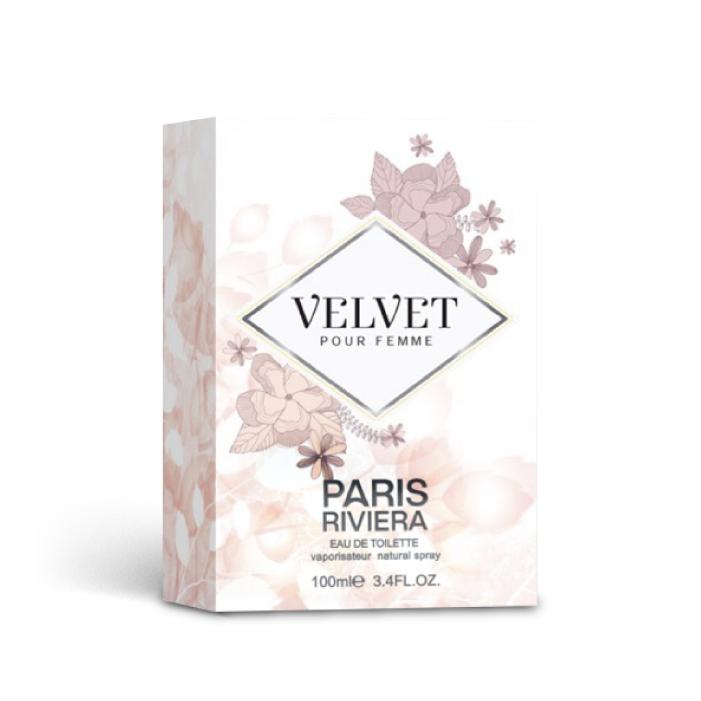 น้ำหอม PARIS RIVIERA VELVET POUR FEMME น้ำหอมสำหรับผู้หญิง (100 ml.)