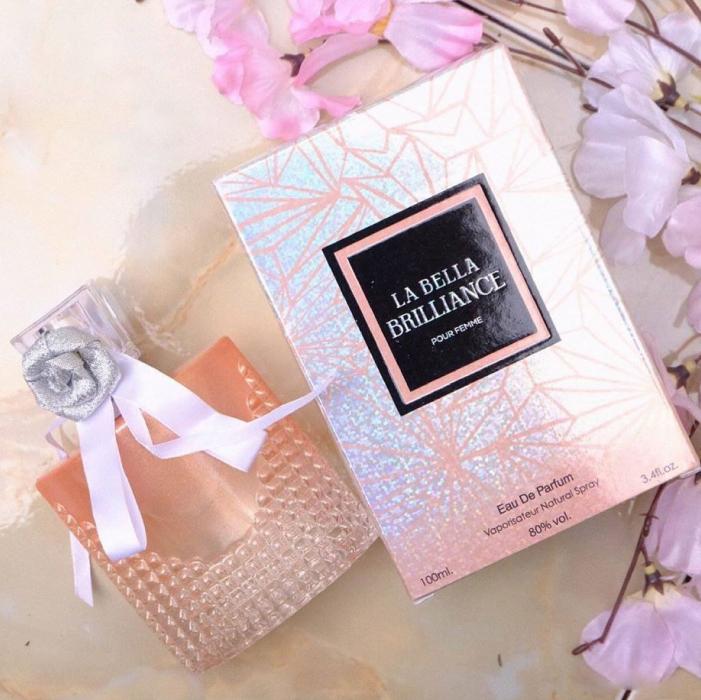 น้ำหอม LA BELLA BRILLIANCE POUR FEMME น้ำหอมสำหรับผู้หญิง (100 ml.)