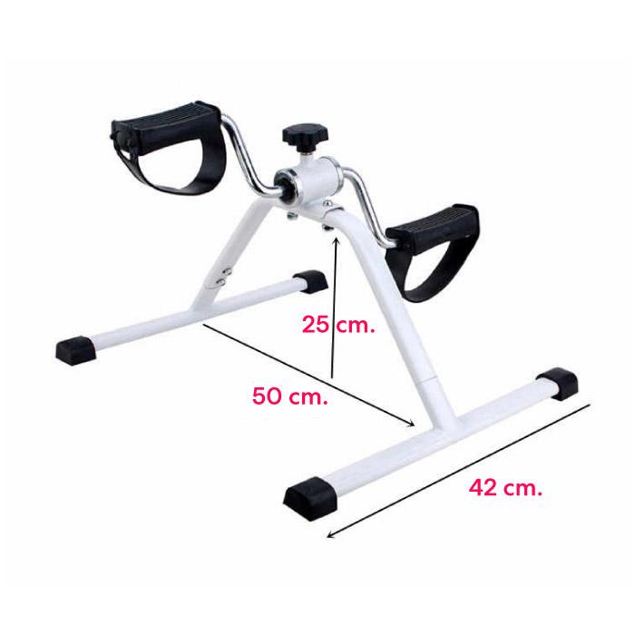 เครื่องออกกำลังกาย ที่ปั่นบริหารแขนและขา จักรยานมือเท้าปั่น THAI SUN SPORT รุ่น MINI pedal รุ่น