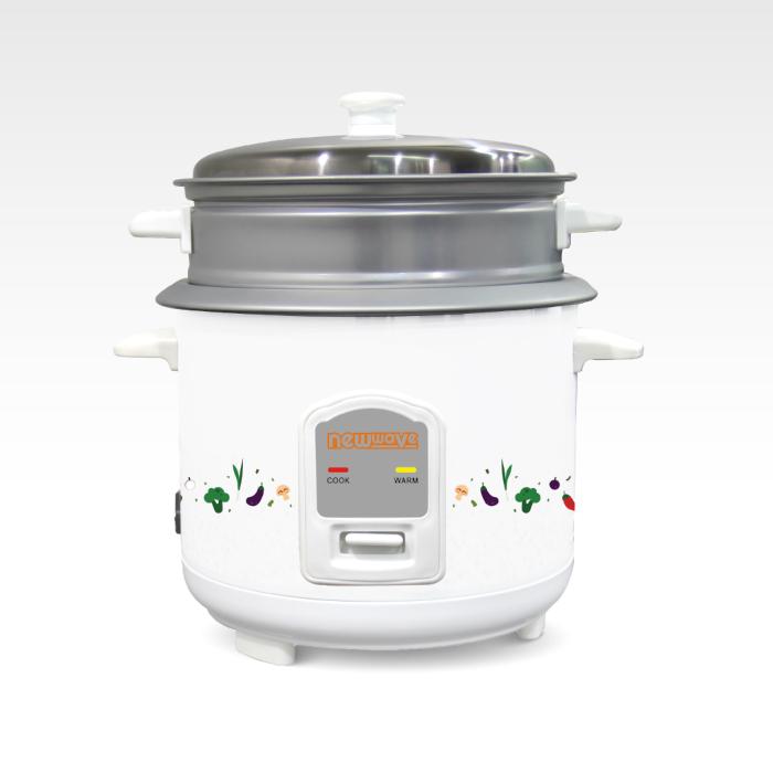 NEWWAVE หม้อหุงข้าวไฟฟ้า หม้อหุงข้าวขนาดเล็ก รุ่น RC01/400-1011 (จุ 1 ลิตร)