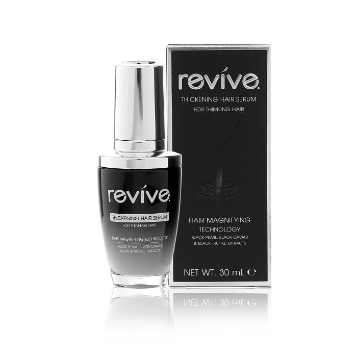 Revive รีไวฟ์ ติ๊คเคนนิ่ง แฮร์ เซรั่ม (Thickening Hair Serum) (ขวดดำ)