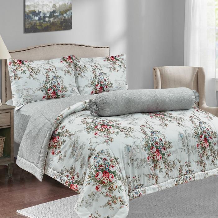 BONITA (โบนิต้า) ผ้าปูที่นอน ชุดผ้าปูที่นอน พร้อมผ้านวม รุ่น Deluxe (ขนาด 6 ฟุต)