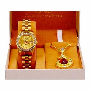 ชุดนาฬิกาเศรษฐีนาคาผู้หญิง(เซ็ตนาฬิกาผู้หญิง) SET K ราคา 1 ,590 บาท