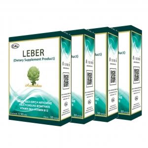 ผลิตภัณฑ์เสริมอาหาร ลีเบอร์ 4 กล่อง