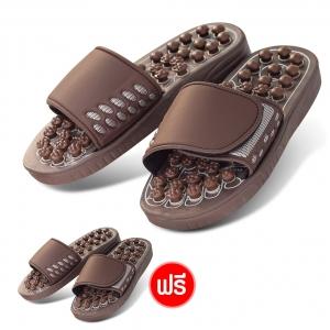 Genki Deluxe รองเท้าเพื่อสุขภาพ รองเท้านวดกดจุดฝ่าเท้า