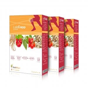 Lek Capp ผลิตภัณฑ์เสริมอาหาร เลค แคปป์ 3 กล่อง