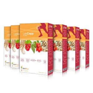 ผลิตภัณฑ์เสริมอาหาร เลค แคปป์ 6 กล่อง