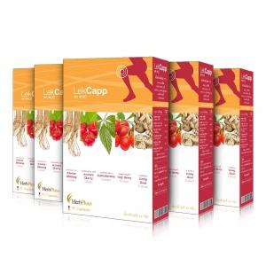 Lek Capp ผลิตภัณฑ์เสริมอาหาร เลค แคปป์ 5 กล่อง