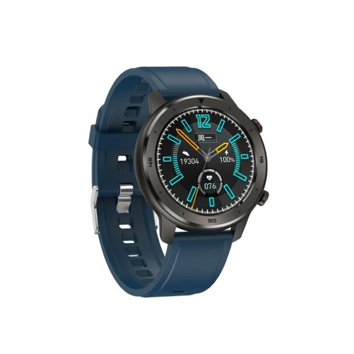 G-item Navi Smart Watch นาฬิกาออกกำลังกาย วัดการเต้นหัวใจ วัดก้าวเดิน (สีน้ำเงิน Navi Blue)