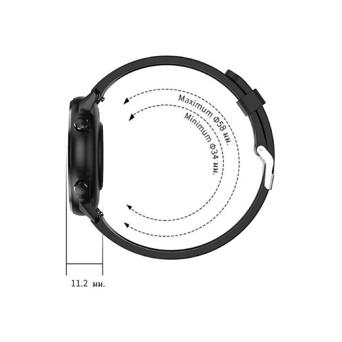 G-item Navi Smart Watch นาฬิกาออกกำลังกาย วัดการเต้นหัวใจ วัดก้าวเดิน (สีดำ)