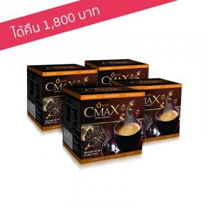 เอส.โอ.เอ็ม. ซีแมคซ์ กาแฟชงดื่มเพื่อสุขภาพ สารสกัดจากถั่งเช่าและโสมเกาหลี 4 กล่อง