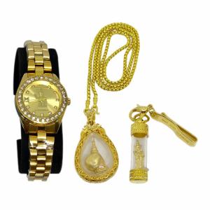 SET B นาฬิกา เทพทันใจ ซื้อ 1 แถม 2 (เซ็ตนาฬิกาผู้หญิง) ราคา 1,590 บาท