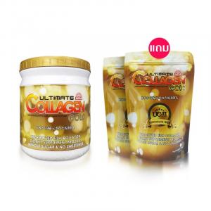 ผลิตภัณฑ์เสริมอาหารอัลติเมท คอลลาเจน โกลด์ 1 กระปุก แถม 2 ซอง