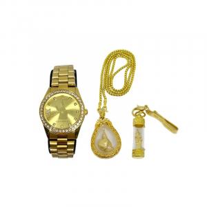 SET A นาฬิกา เทพทันใจ ซื้อ 1 แถม 2 (เซ็ตนาฬิกาผู้ชาย) ราคา 1,590 บาท