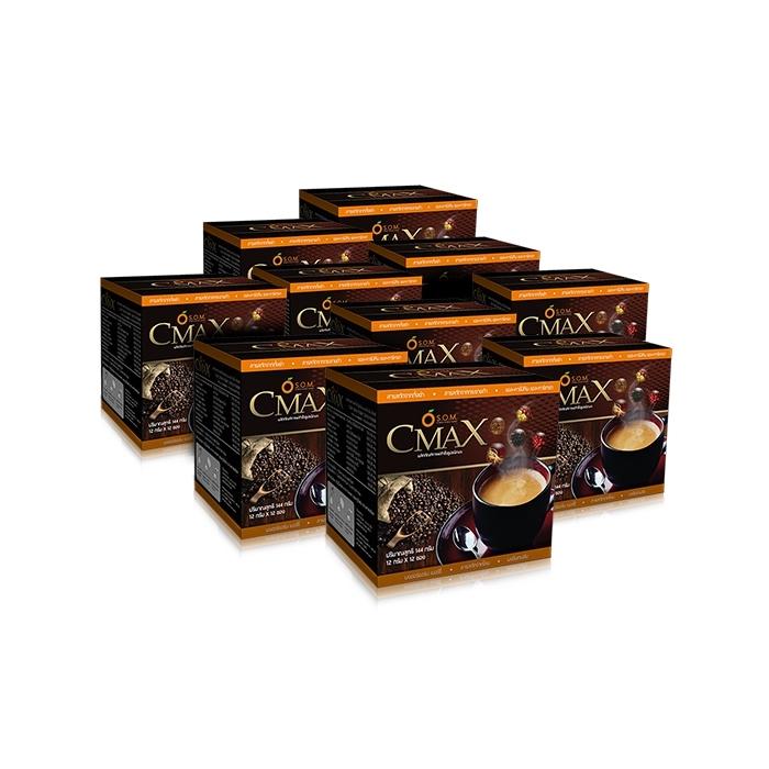 เอสโอเอ็ม ซีแมคซ์ (S.O.M. CMAX CREAMY RICH AROMA) กาแฟเพื่อสุขภาพ สารสกัดจากถั่งเช่าและโสมเกาหลี