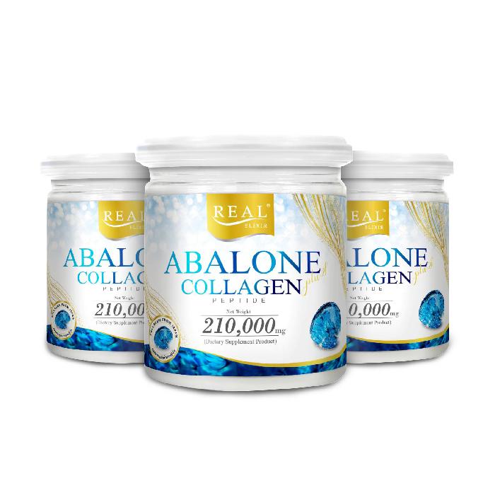อาบาโลน คอลลาเจน เปปไทด์ (Real Elixir Abalone Collagen) (ขนาด 210g.)