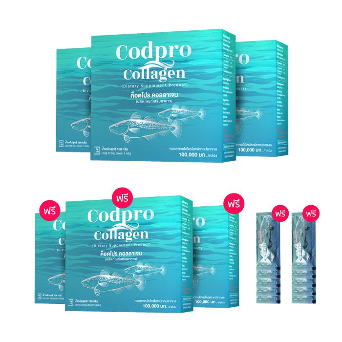 ผลิตภัณฑ์เสริมอาหาร ค็อดโปร คอลลาเจน (Codpro Collagen)